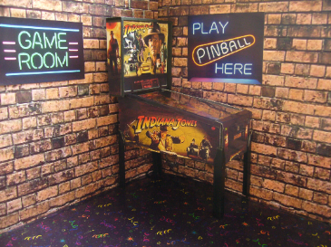 Indiana Jones 1/12th Scale Miniature Pinball Table Model